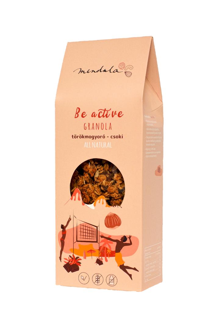 csokis-mogyorós granola