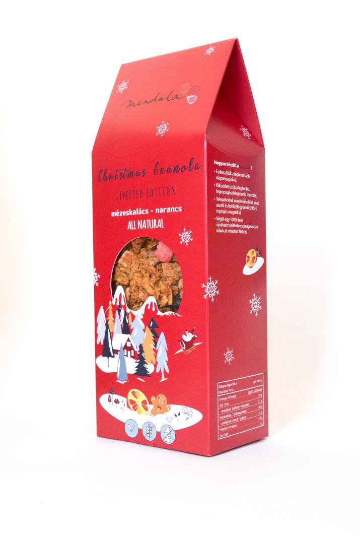 Christmas granola - mézeskalácsos és narancsos