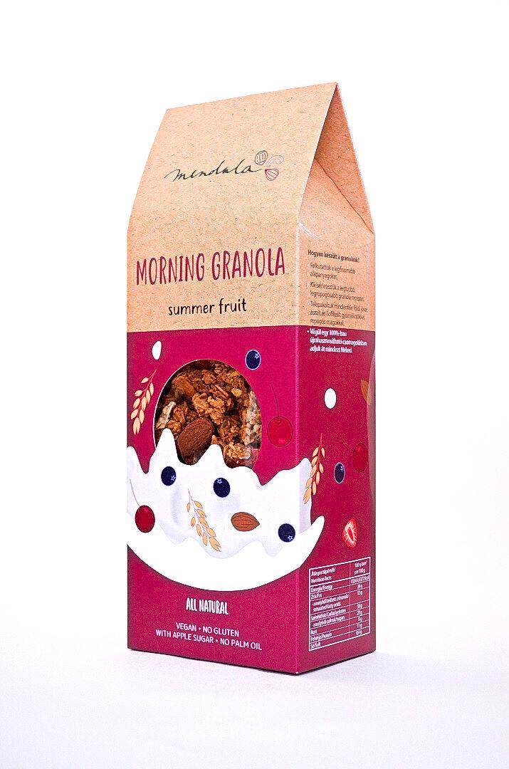 Summer fruit granola